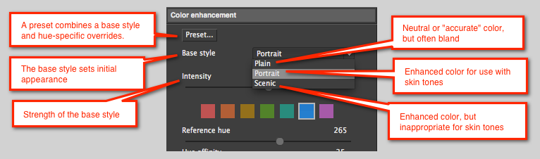 Photo Ninja tutorial: Enhancing color