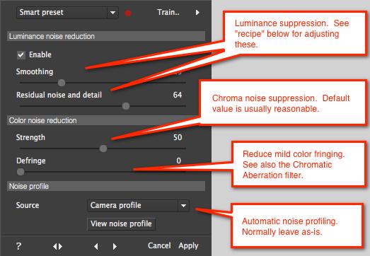 Photo Ninja tutorial: Adjusting noise reduction